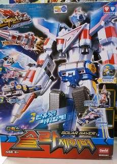 Space Guardian Solar Saver Auldey Robot Transformer Sentai Original