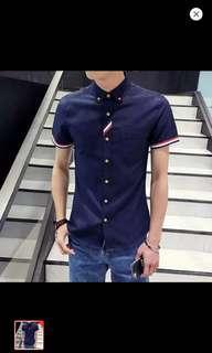 Men Korean style casual shirt