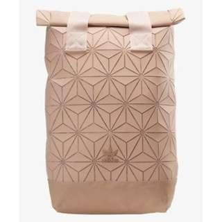 Instock Adidas x Issey Miyake 3D Roll Up Top Backpack - Pink
