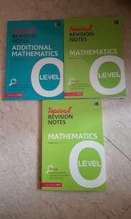 Topical Revision Notes - maths n add maths