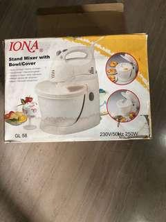 Iona  stand maxer. For cake bread n dessert