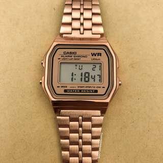 Rose Gold Casio Watch OEM