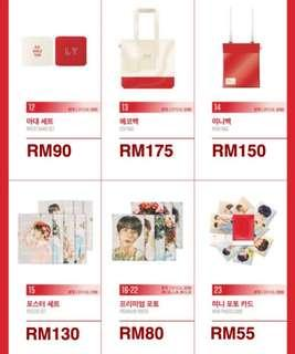 BTS Love Yourself Tour Official Merchandise MD [ Buying Service ]