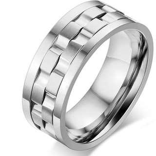 Men's Fashion Titanium Steel Ring