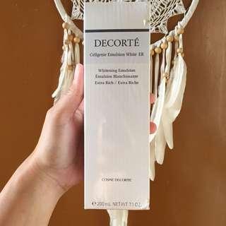 REDUCED!!! Decorte whitening emulsion