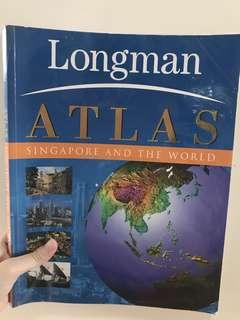 Longman Atlas Singapore and The World