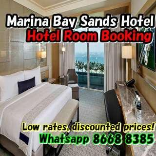 MBS Marina Bay Sands Hotel Stay - Room Booking - best price, discounted rate!