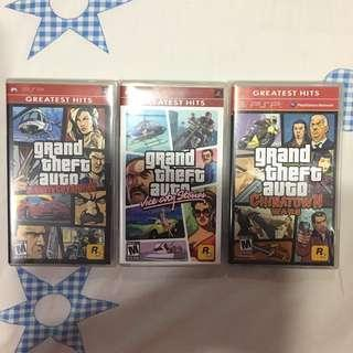 PSP UMD GAME LOT Grand Theft Auto