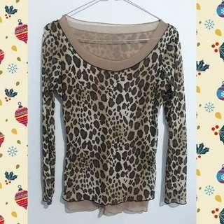 Buy 2 get 1 Atasan Leopard