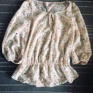 Candies see trough blouse