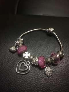 Pandora-inspired bracelet