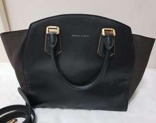 Authentic Charles and Keith 2-way bag