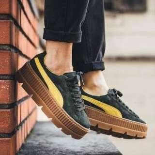 🚚 Puma厚底鞋(綠)