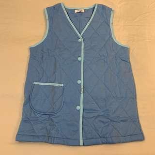 Leona Blue Winter Home Jacket 冬天背心 屋企保暖