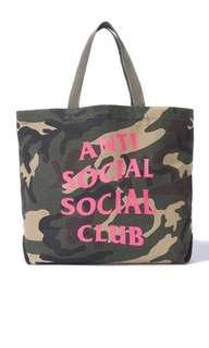 Anti Social Social Club Fall18 Camo Tote bag