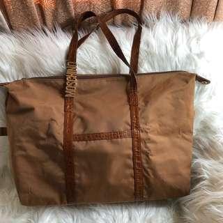 Sale..Vintage Moschino Borse Oversize Tote Bag