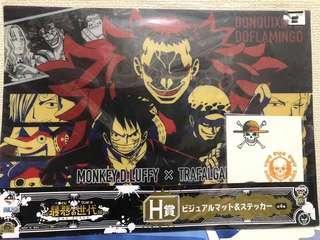 One Piece Poster with Sticker