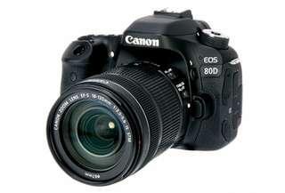Kredit murah kamera canon 80D. Free 1x cicilan