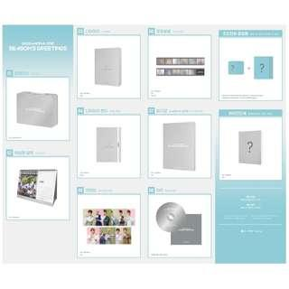 WANNA ONE SEASON GREETING LOOSE ITEMS