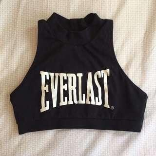 Everlast halter sports bra
