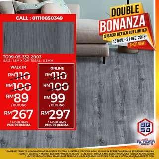 Enjoy this Special Double Bonanza Promo!!