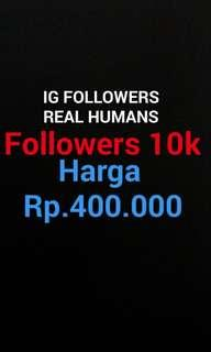 Followers IG Real People