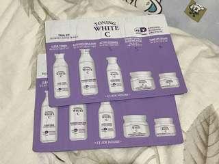 Etude House Toning White C Trial Kit x 2 set