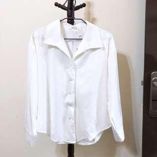 🚚 雪紡長袖襯衫