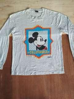 Long sleeve shirts Mickey mouse CALIFORNIA Disney