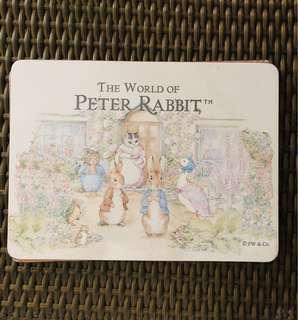 Peter Rabbit dinner placemats board mats