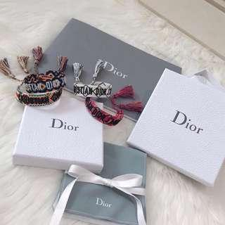 Christian Dior 字母編織手鍊
