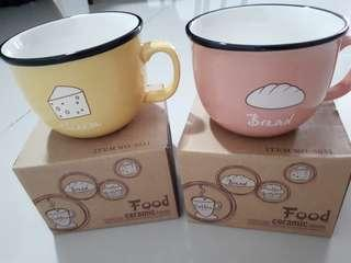 Bread & Cheese Couple Coffee Mug