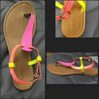 Fluro 39 Strappy Sandals by Ruby postage only $3!