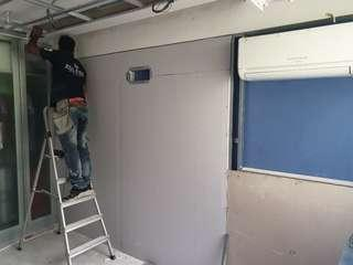 False Ceiling, Partitions wall, Electrical work, Capentry...