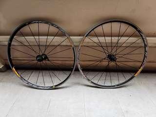 WTS Mavic Aksium Race Clincher Wheelset