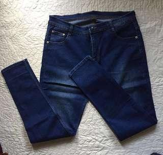 channel jeans big size