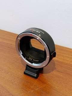 Viltrox EF-Nex mount adapter