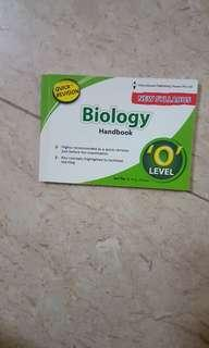 O levels quick revision biology handbook