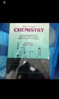 A Level Chemistry 2000-2009 assessment