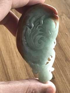 Jade Pendant Bird