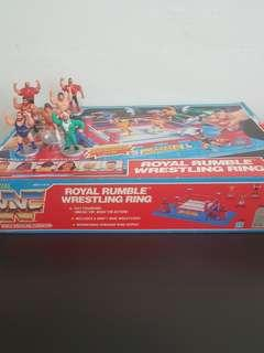 WWF Royal Rumble Mini Wrestling ( I add 7 free mini wrestlers worth $180)