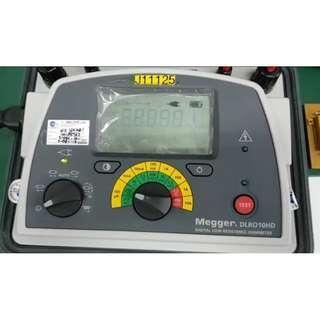 Megger DLRO 10HD Repairs at Dynamics Circuit (S) Pte. Ltd.