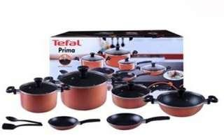 TEFAL PRIMA NON STICK COOKWARE SET 12 PCS