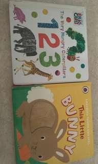 This Little Bunny & The Very Hungry Caterpillar's 123