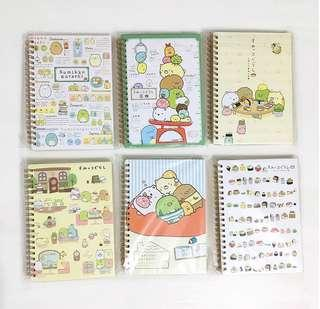 Sumikko Gurashi Note books