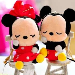 Mickey & Minnie Stuffed Toy