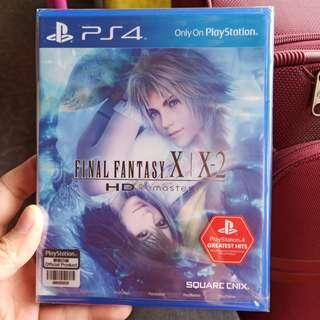 Final fantasy x and x-2 for ps4 (brand) FFX FFX-2