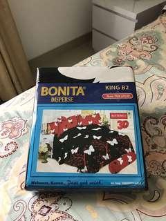 Sprei Bonita disperse king size B2 butterfly