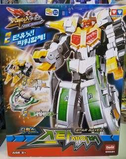 Space Guardian Star Saver Auldey Robot Transformer Sentai Original