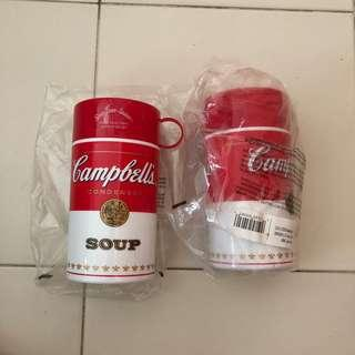 Campbell's soup thermal container
